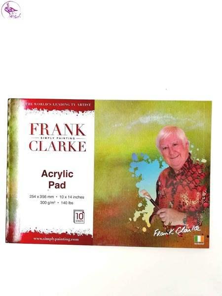 پد اکرلیک 14 در10 FRANK CLARKE